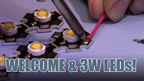 SDG #013 Welcome and Update on CC LED Driver (New 3W LEDs