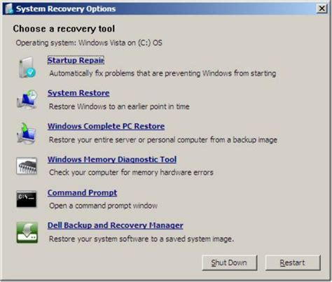 System Recovery Options: Guide for Windows Vista, 7, 8, 8