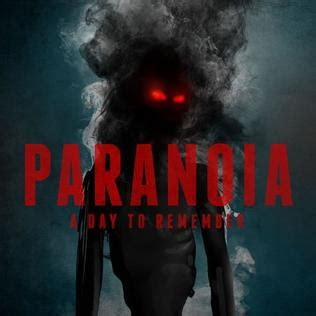 Paranoia (A Day to Remember song) - Wikipedia