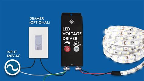 12VDC Dimmable LED Driver installation - Magnitude's E