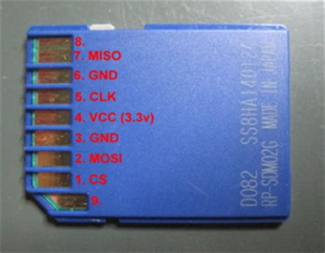 Using the BusPirate with a SD card - Nada LabsNada Labs