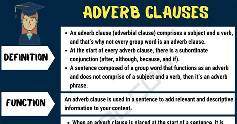 adverb subordinate clause examples