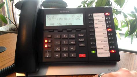 How to Place a Conference Call from Toshiba Telephones ACC