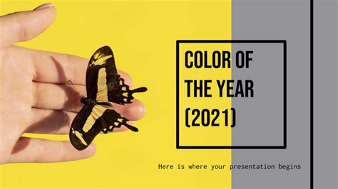 Color of the Year 2021 Google Slides & PowerPoint template