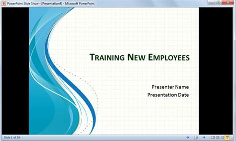 Playing PowerPoint SlideShow in a Small Window instead of