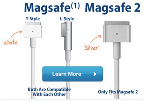 Macbook Charger 60w Magsafe Power Adapter Replacement for