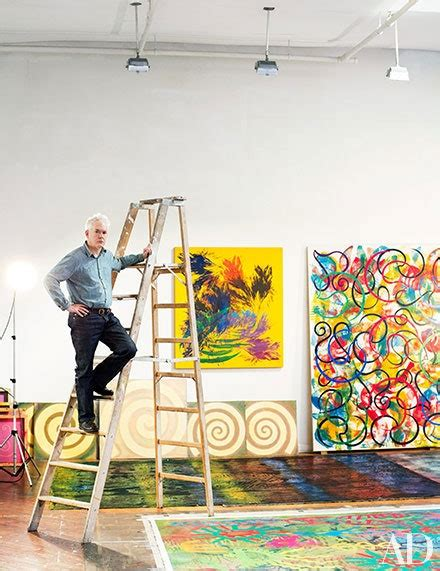 Artist Philip Taaffe's Large-Scale Works Take Center Stage