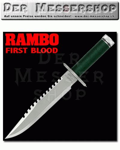 Rambo First Blood Bowie Standard Edition | Fantasy & Film