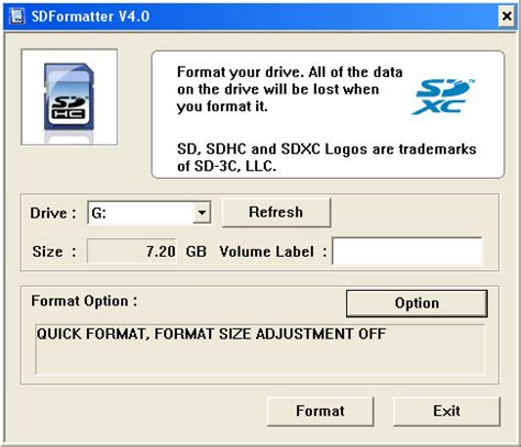 SD Formatter - Free Software Download