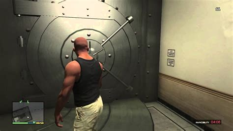 GTA V: How to get into the Bank Vault of GTA online in