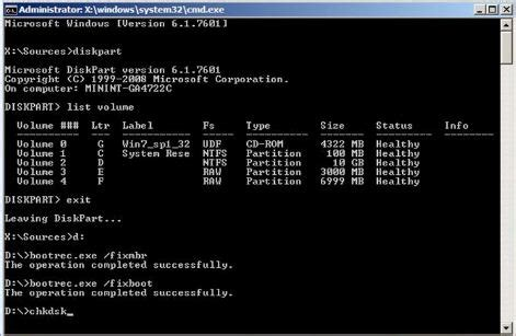 How to Fix Hard Disk Corrupted Boot Volume ?   DESKDECODE