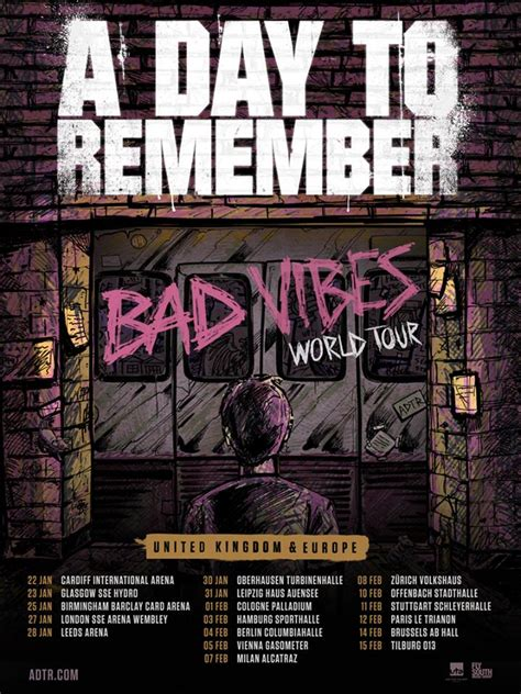 A Day To Remember announce 2017 tour in support of new