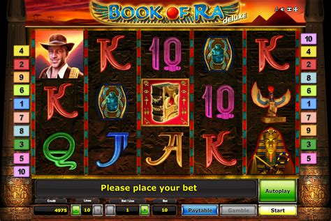 Free Book of Ra Deluxe Slot