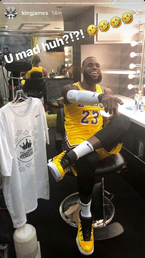 LeBron James Shows Off His Lakers Uniform For the First